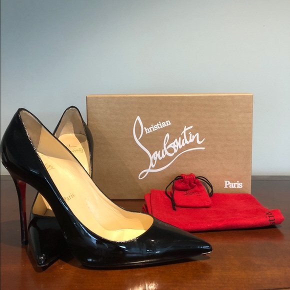 new style b7d21 f40bf Christian Louboutin Decollete 554 100